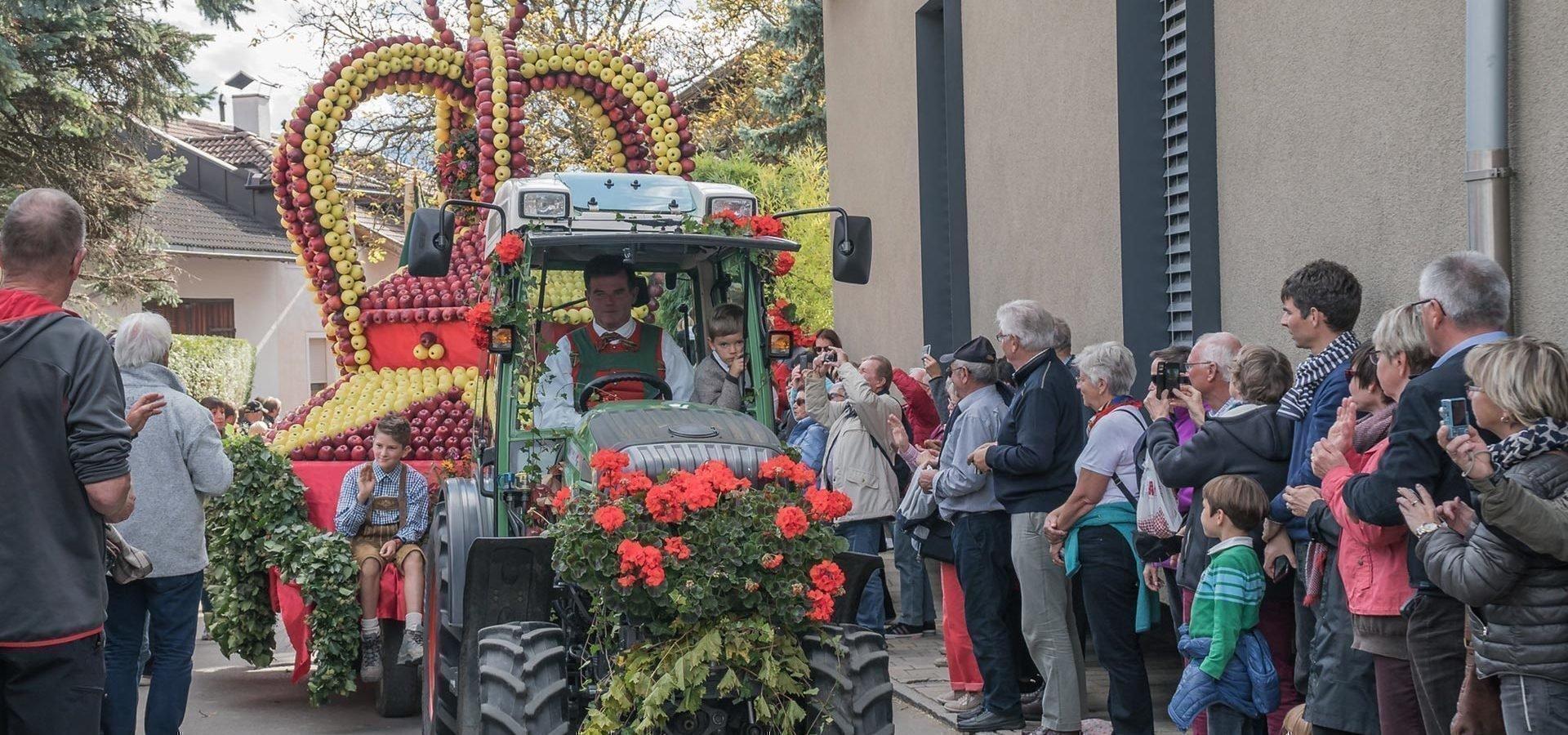 Erntezeit in Natz: Das Apfelfest in der Südtiroler Obstregion