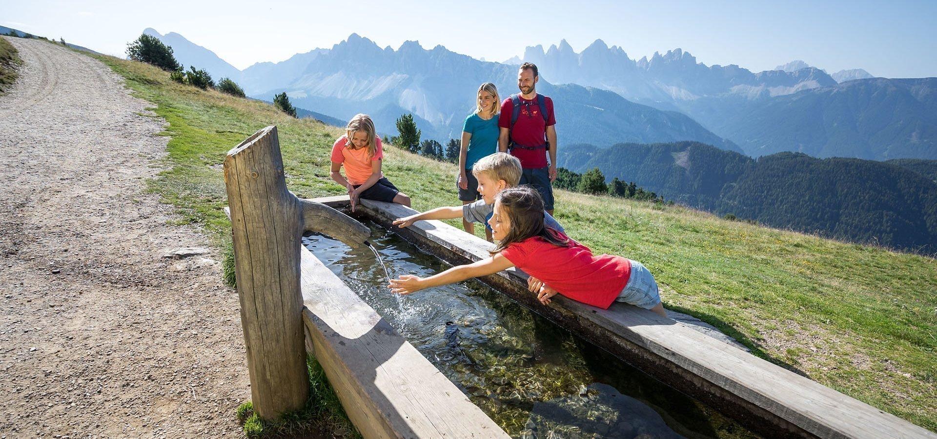 Familienurlaub auf dem Bauernhof in Südtirol